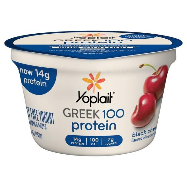 Yoplait Greek 100 Black Cherry product image