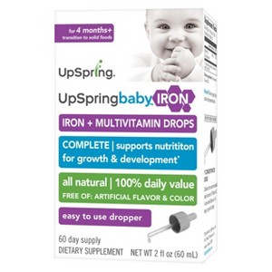 UpSpring Multi Vitamin+Iron Drops