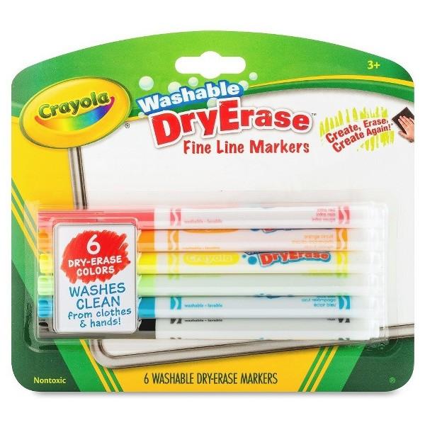 Crayola Dry Erase Fineline Markers product image