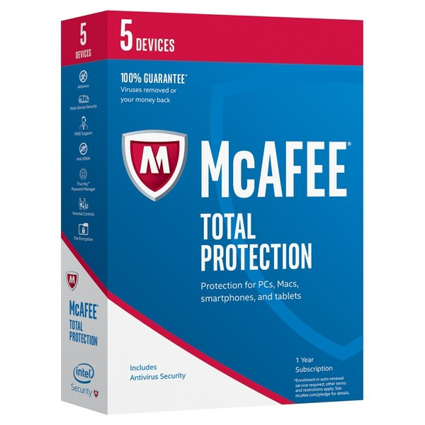 McAfee17 Total Protection 5 Device product image