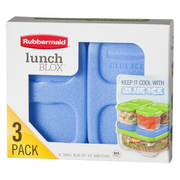 Rubbermaid Lunchblox Blue Ice product image