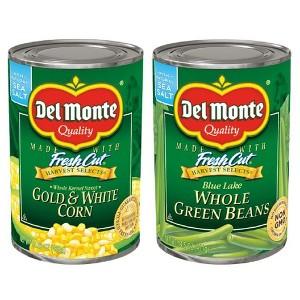 Del Monte Harvest Select Veggies