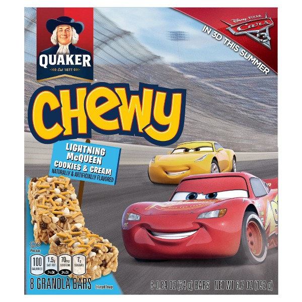 Quaker Chewy Lightning McQueen 8ct product image