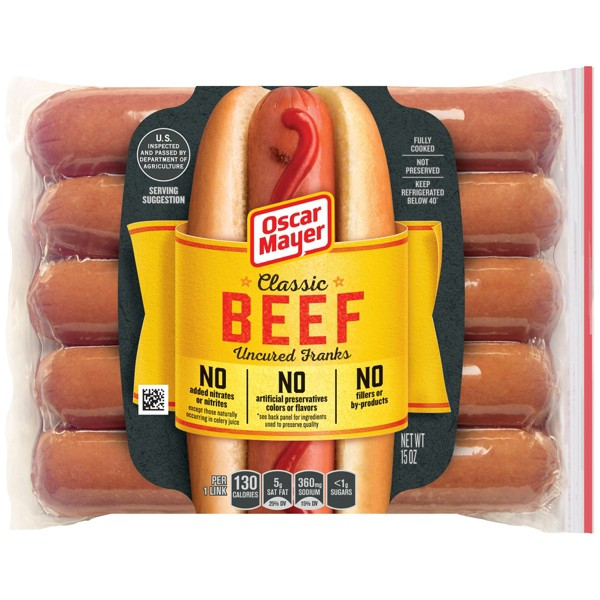 Oscar Mayer Hot Dogs product image