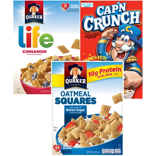 Cap'n Crunch/Life/Oatmeal Squares product image