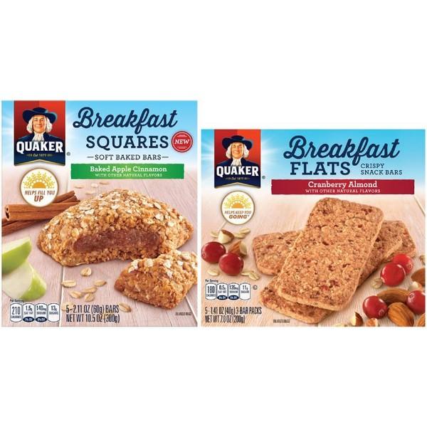 Quaker Breakfast Squares & Flats product image