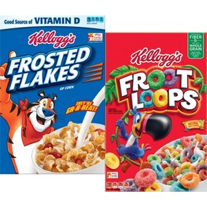 Frosted Flakes & Froot Loops
