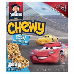 Quaker Chewy Lightning McQueen 8ct