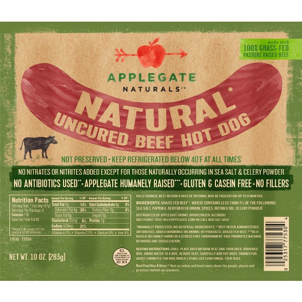 Applegate Hot Dogs product image