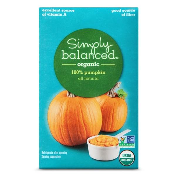 Simply Balanced Organic Pumpkin product image