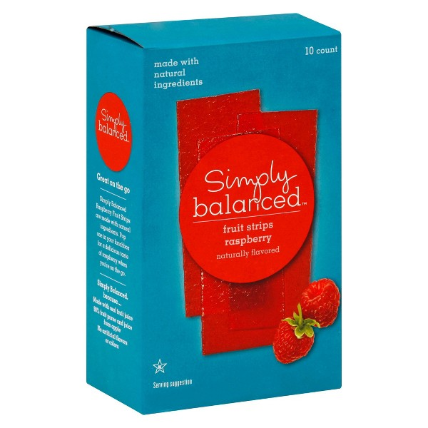 Simply Balanced Fruit Strips/Cups product image