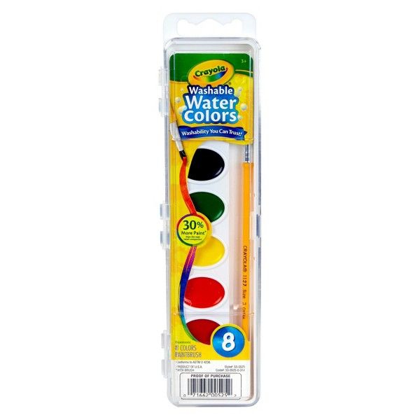 Crayola Washable Watercolors product image