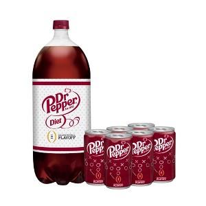 Dr Pepper Regular & Diet Soda