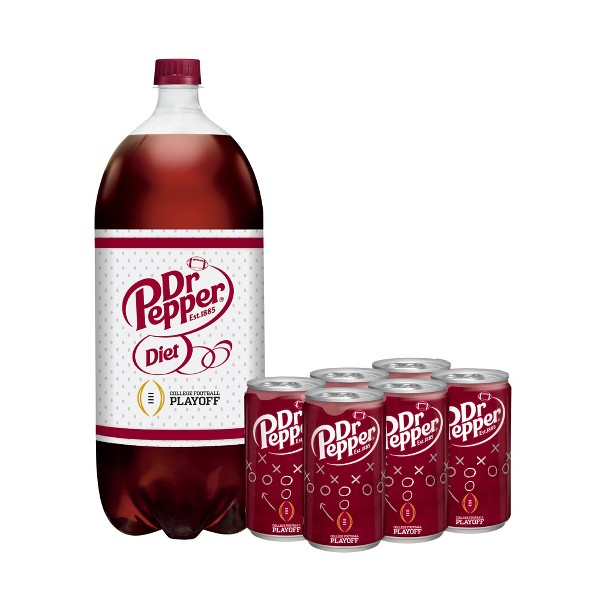 Dr Pepper Regular & Diet Soda product image