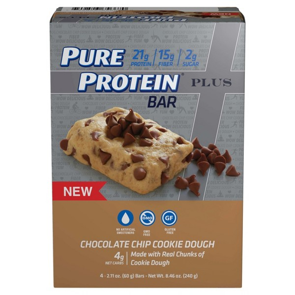 Pure Protein Plus Protein Bars product image