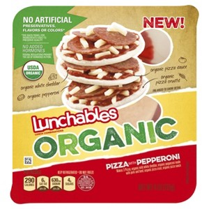 NEW Lunchables Organic