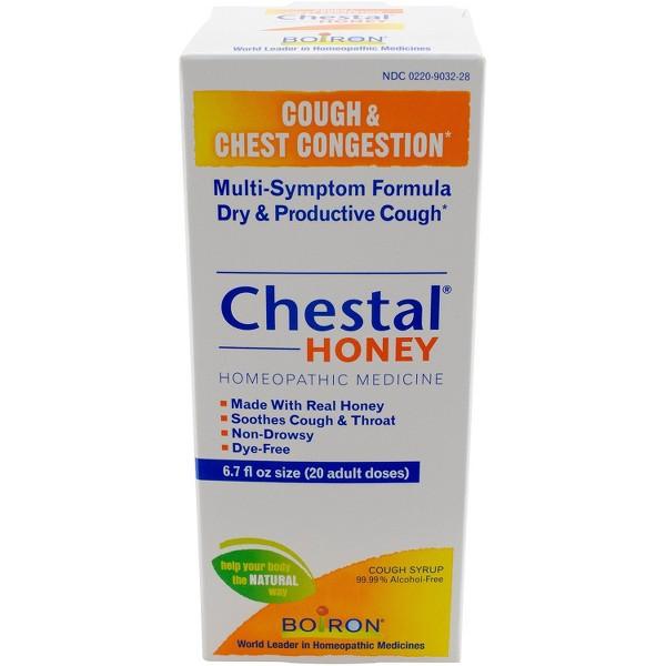 Boiron Chestal Honey Syrup product image