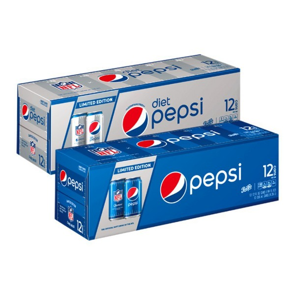Pepsi 12 pk Cans & 8 pk Bottles product image