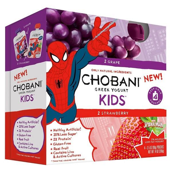 Chobani Kids & Tots 4 pk Pouches product image