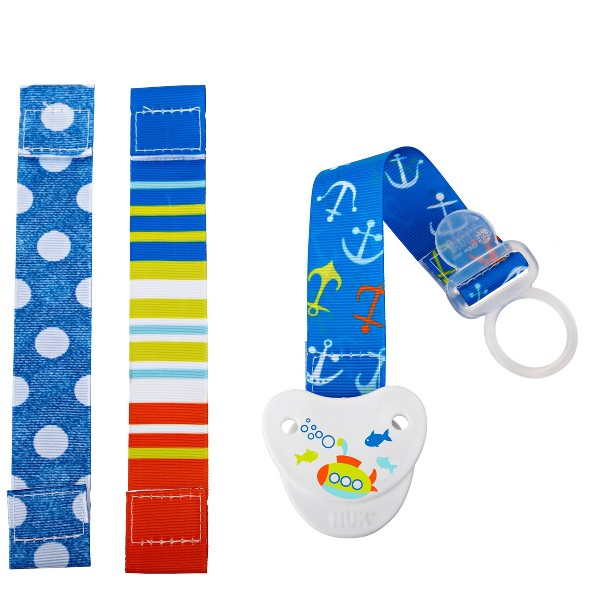 NUK 3-in-1 Pacifier Clip product image