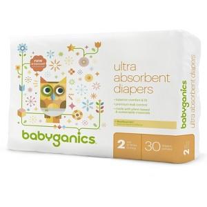 Babyganics Bag Diapers