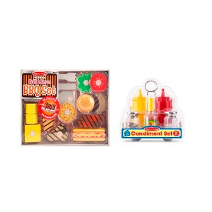 Pancake-BBQ & Condiment Play Sets