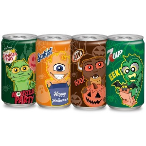 7UP,A&W, Can Dry,Sunkist & More