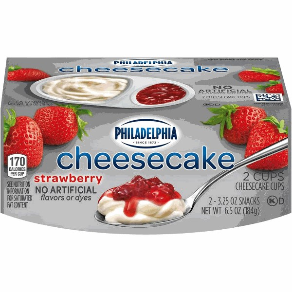 Philadelphia Cheesecake Cups product image