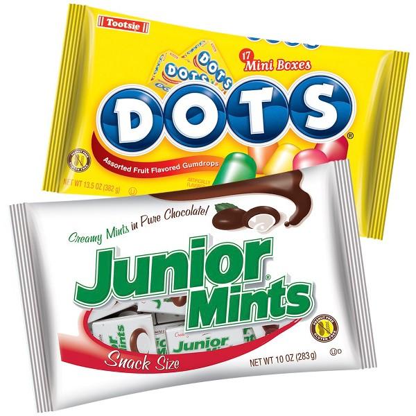 Junior Mints & Dots Snack Size product image