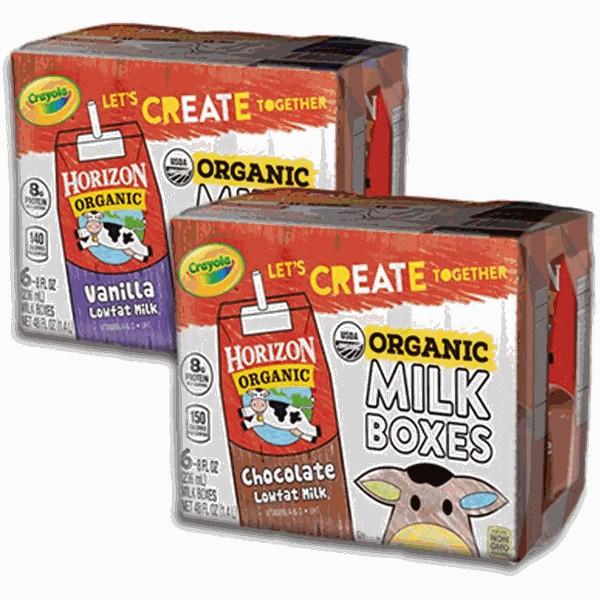 Horizon Organic Milk Boxes product image