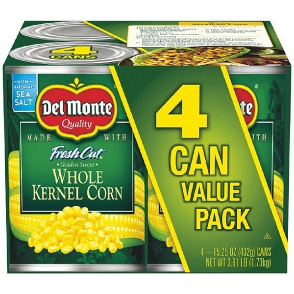 Del Monte 4pk Vegetables product image