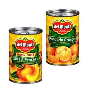 Del Monte 15 oz Canned Fruit