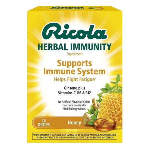 Ricola Immunity Gummies & Drops product image