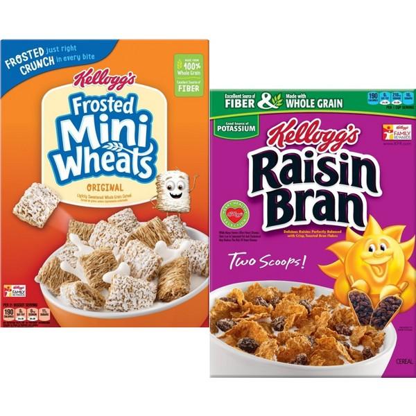 Mini Wheats & Raisin Bran product image