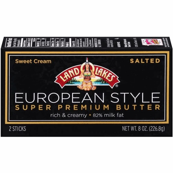 Land O'Lakes European Style Butter product image