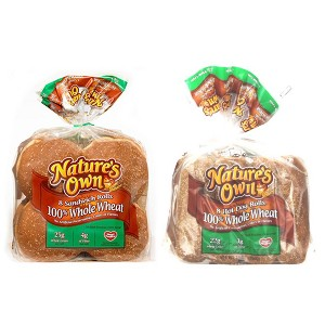 Nature's Own 100% Wheat Buns