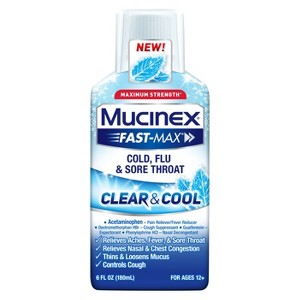 Mucinex Clear & Cool