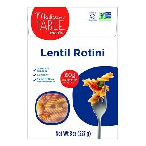 Modern Table Lentil Pasta