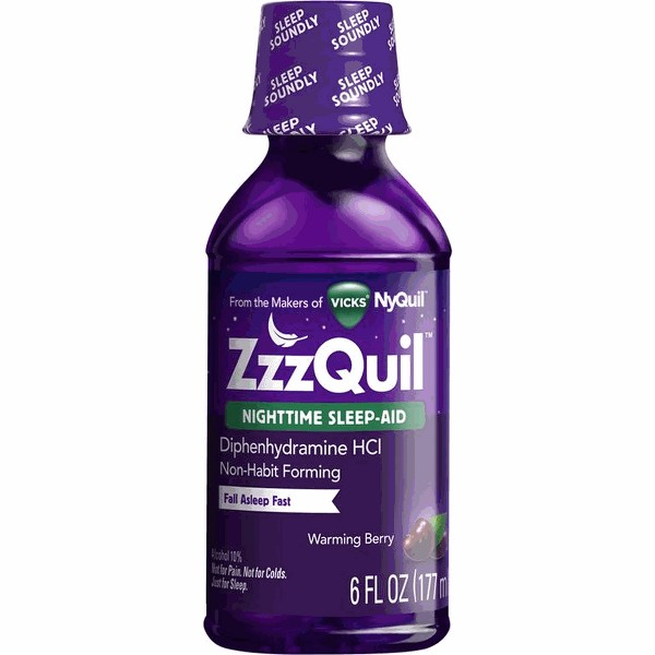 ZzzQuil Product product image