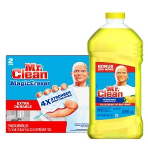 Mr. Clean Cleaning