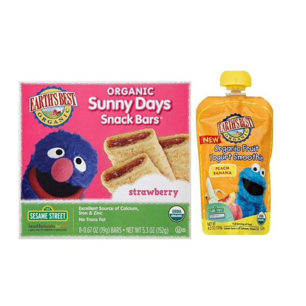 Earth's Best Pouches & Snacks product image