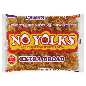 No Yolks Noodles