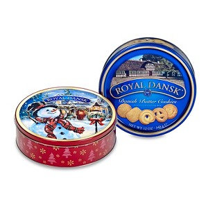 Royal Dansk Holiday Butter Cookies