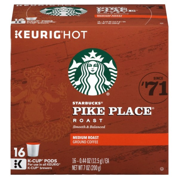 Starbucks 9-16 Ct K-Cup Pods product image