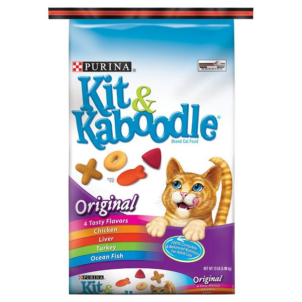 Purina Kit & Kaboodle Dry Cat Food product image