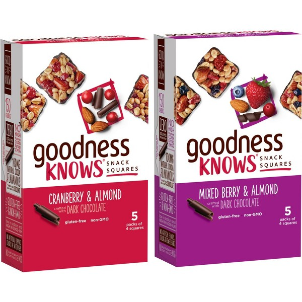 goodnessKNOWS Snack Squares product image