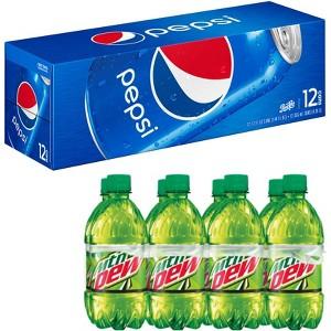 Pepsi 12 pks & 8 pk Bottles
