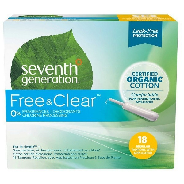 Seventh Generation Tampons & Pads product image