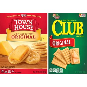 Club & Town House Crackers