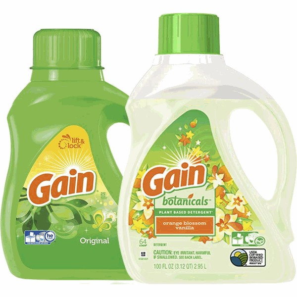 Gain Liquid or Powder Detergent product image